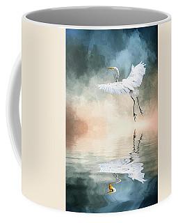 Landing At Dawn Coffee Mug by Cyndy Doty