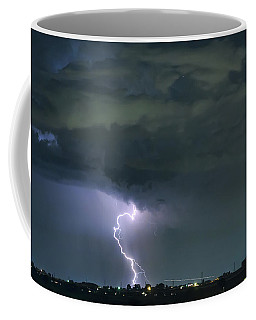 Coffee Mug featuring the photograph Landing In A Storm by James BO Insogna