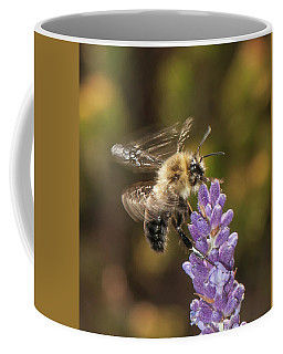 Landing On Lavender Coffee Mug