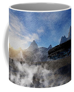 Landing Site Coffee Mug