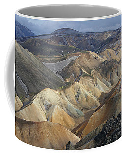 Landmannalaugar Rhyolite Mountains Iceland Coffee Mug