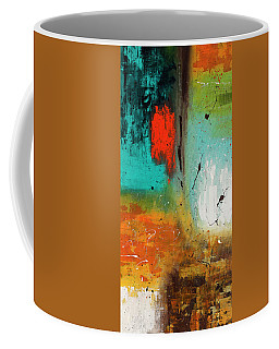Coffee Mug featuring the painting Landmarks by Carmen Guedez