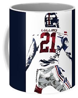 Landon Collins New York Giants Pixel Art 1 Coffee Mug