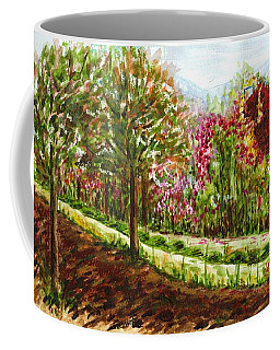 Coffee Mug featuring the painting Landscape 2 by Harsh Malik