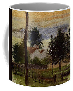 Landscape At Louveciennes Coffee Mug