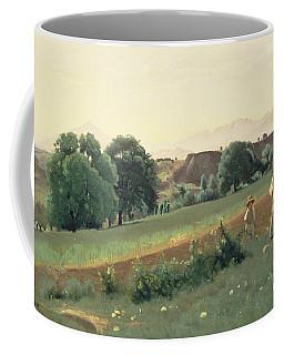 Landscape At Mornex Coffee Mug