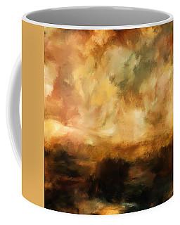 Landscape At Sunset Coffee Mug