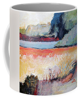 Landscape In Abstraction Coffee Mug