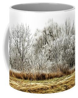 Landscape In Winter Coffee Mug