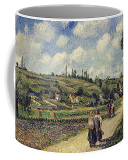 Landscape Near Pontoise Coffee Mug