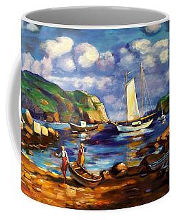 Landscape With Boats Coffee Mug
