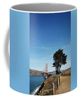 Landscape With Golden Gate Bridge Coffee Mug