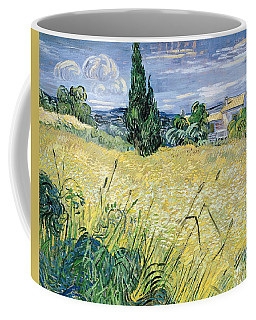 Landscape With Green Corn Coffee Mug