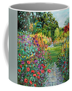 Landscape With Poppies Coffee Mug