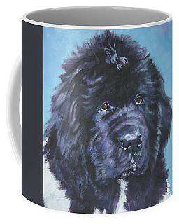 Landseer Newfoundland Puppy Coffee Mug