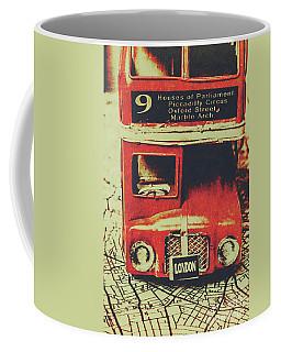 Lanes And Lines Of London Coffee Mug