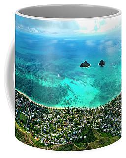 Lanikai Over View Coffee Mug