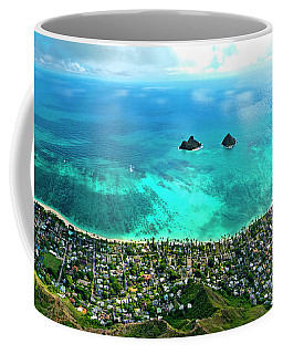 Lanikai Over View Coffee Mug