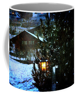 Lantern In The Woods Coffee Mug