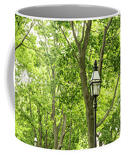 Lanterns Among The Trees Coffee Mug
