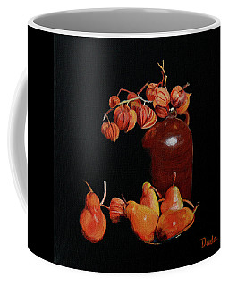 Lanterns And Pears Coffee Mug