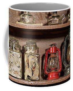 Coffee Mug featuring the photograph Lanterns And Wicks by Jay Stockhaus
