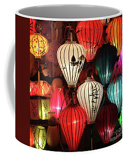 Lanterns Colors Hoi An Coffee Mug by Chuck Kuhn