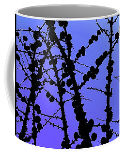 Larch Cones Against The Sky Coffee Mug