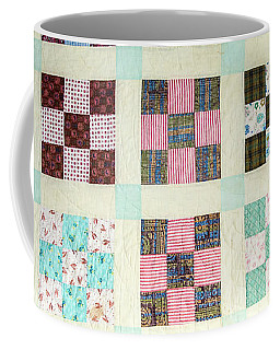 Large Quilt Coffee Mug