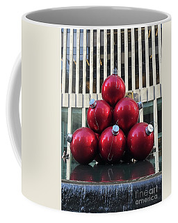 Large Red Ornaments Coffee Mug