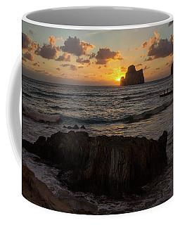 Large Rock Against The Light Coffee Mug