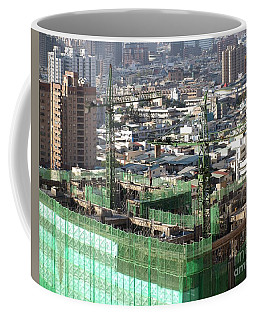 Large Scale Construction Site Coffee Mug