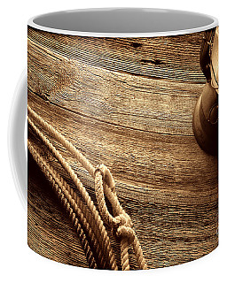 Lariat And Lantern Coffee Mug