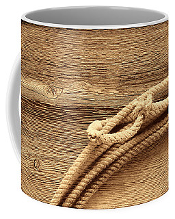 Lariat On Wood Coffee Mug