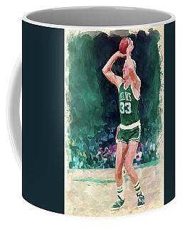 Larry Bird Paint Coffee Mug