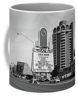 Coffee Mug featuring the photograph Las Vegas 1994 #1 Bw by Frank Romeo