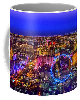 Las-vegas Aerial Golden Hour Coffee Mug