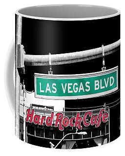 Las Vegas Blvd Sign Fusion Coffee Mug