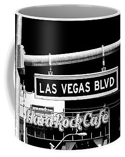 Las Vegas Blvd Sign Coffee Mug