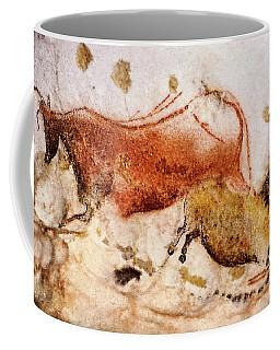 Lascaux Cow And Horse Coffee Mug