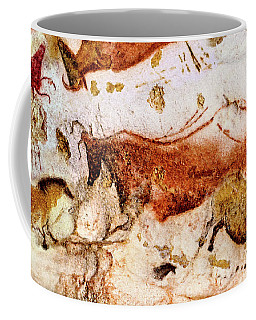 Lascaux Cow And Horses Coffee Mug