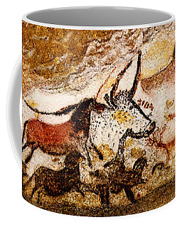 Lascaux Hall Of The Bulls Coffee Mug