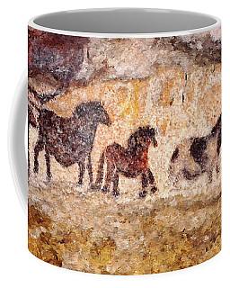 Lascaux Horses Coffee Mug