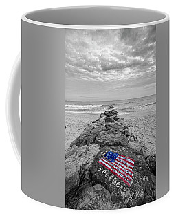 Lashley Beach Freedom Coffee Mug