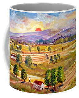 Lasithi Valley In Greece Coffee Mug