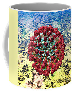 Lassa Virus Coffee Mug by Russell Kightley