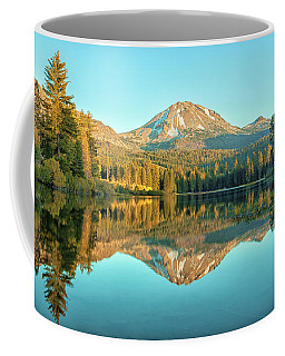 Lassen And Its Reflection Coffee Mug