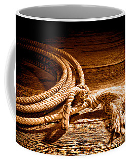 Lasso - Sepia Coffee Mug