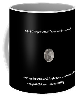 Coffee Mug featuring the photograph Lasso The Moon by Lisa Wooten
