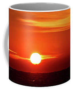 Coffee Mug featuring the photograph Last Autumn Sunrise 2016  by Lyle Crump